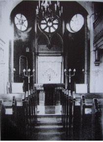 Die Jüdische Synagoge in Schweinfurt vor ihrer Zerstörung
