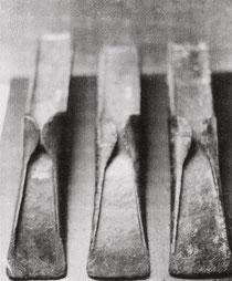 3 Lappenbeile der späten Bronzezeit