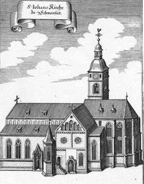 Die St. Johanniskirche 1648