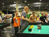 C-Palb-Roboter im Einsatz bei der WM in Graz
