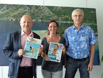 Dr. Josef Peterleithner, General Manager of TUI Austria, with us in the TUI Austria Headquarter