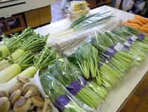野菜ずら~り