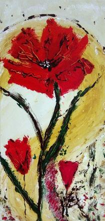 Blumenträume in rot