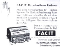 Facit-Einhandbedienung