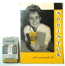 Addiator Werbeaufsteller und -tafel