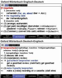 Bildschrim des Highend Übersetzers Series5
