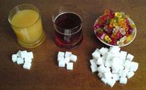 Versteckter Zucker in Nahrungsmitteln