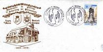 Souvenir philatèlique du 10éme anniversaire des jumelages