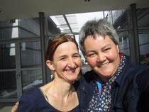 Nathalie, meine wunderbare Schreibfreudin - und ich