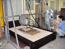 組子ベッド実験2 布団と寝具