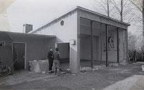 Die Entstehung des Clubheims.