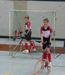 Paul-Lukas Pichler und Maximilian Rudolph erreichten in Augsburg Platz 4.