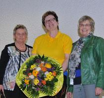 Heidi Mather, 2. von rechts
