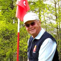 Rolf Hartenstein, Captain der Seniorenmannschaft 2011. Golf-Club Freudenstadt. Foto Rainer Sturm stormpic.de