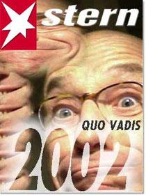Freunde als fingierte Stern-Titel. Montage Rainer Sturm