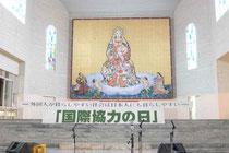 大聖堂では午後からは歌や踊りが