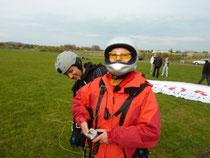 MDR-Reporterin Heike mit Mirko unserem Tandempiloten
