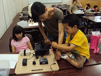 太陽光発電「親子で手づくり発電教室」