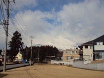 近くで見る富士山