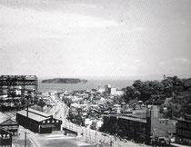 1950年頃の 本町周辺