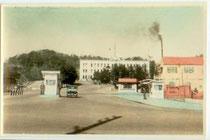 1950年代のベースメインゲートの様子