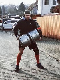 SC Int'l - Street Combatives - Keg Lifting andKeg Carries for Combatives, Krav Maga und Combat Sports