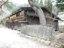 La Ichikokutochi tateba-chaya avant sa remise en fonction