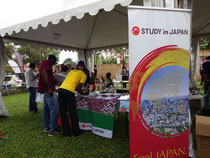 Booth at Uganda Japan Festival, Uganda
