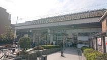 JR嵯峨野山陰線円町駅北口