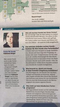 Interview Schaffhausernachrichten