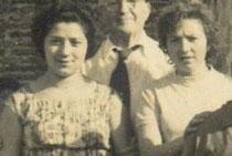 Chanchitas as. Anos 60. Foto cedida por G. Loureiro.
