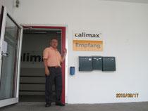 カリマックスの本社事務所前