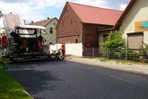 Dorfstraße Zühlsdorf am 2.6.2014, 12.00 Uhr