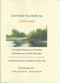 "Angela Kempny ""Unterwegs"""