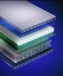 Thermoclearplatten Hohlkammerplatten Polycarbonatplatten