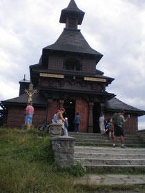 Berg Radhošt - Kapelle