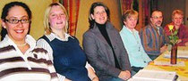 Leiten den KRV: (v.li.) Katrin Brandes, Birte Karrasch, Katja Stöver, Bärbel Auffarth, Uwe Sattler und Birgit Wöbken. Heike Raschen und Wiebke Tönjes fehlen. BILD: SCHULZ