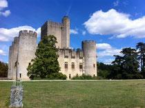 chateau de Rauzan, non loin de la Réole