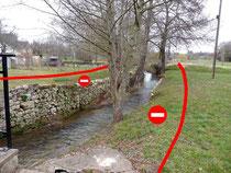 interdiction traitement à moins de 5 m d'un cours d'eau