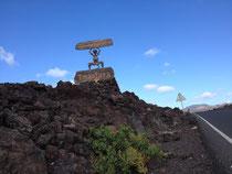Unterwegs auf der Insel Lanzarote