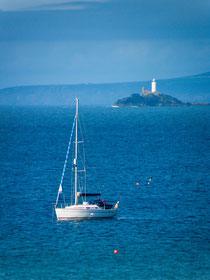 Godrevy Leuchtturm bei St. Ives