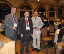 Abb.: Ehrung des Sektionsleiters Obstbau in der ISHS, Prof. G. Costa aus Bologna