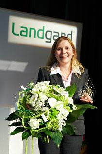 Unsere Preisträgerin: Frau Daniela Kiewning