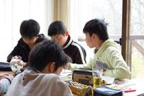 中学入学前の湯布院合宿