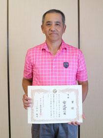 5回目の挑戦で初優勝した安達順一さん