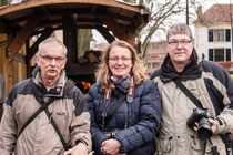 Peter, Claudia und Andreas in Deventer