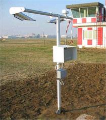 Sensore di tempo presente installato presso la stazione di Caselle (TO)