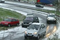 La neige est annoncée... Mais à la DDE on a encore raté le virage... Sont-ils trop vieux pour se lever !