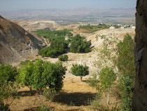 De Pella vue sur vallée du Jourdain