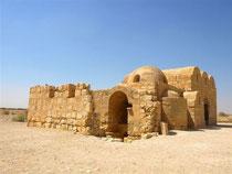 Qasr Amra, classé au Patrimoine Mondial de l'UNESCO